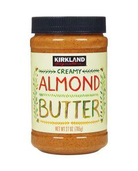 Kirkland Signature Creamy Almond Butter 27 Oz./ 737g