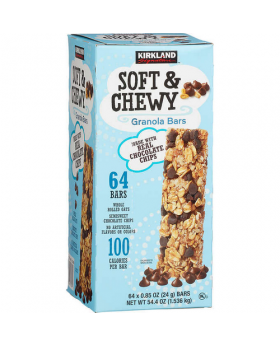 Kirkland Signature Soft & Chewy Granola Bars 0.84 Oz. 64 Pack