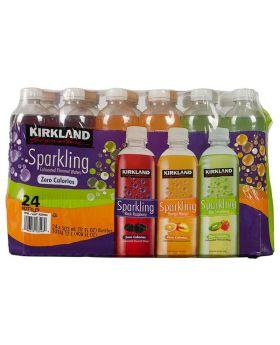 Kirkland Signature Sparkling Water 17 Oz. 24 Case