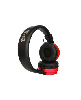 Klip Xtreme Fury Stereo Red Bluetooth Wireless Headphones
