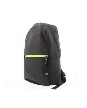 Klip Xtreme KFB-001BK LitePack Nylon Fabric Foldable Backpack