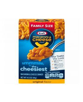 Kraft Macaroni  and Cheese Family Size 411g