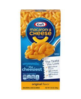 Kraft Macaroni & Cheese Dinner 7.25 Oz. 7 Pack