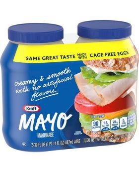 Kraft Mayo Mayonnaise 30 Oz. 2 Pack