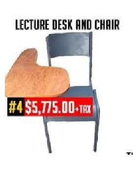 Lecture Desk & Chair