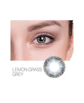 Lemon Glass Colour Series Big Eyes Cute Coloured Contacts (Grey)
