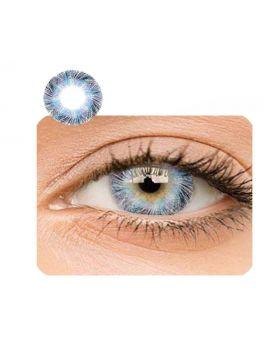 Lemon Glass Colour Series Big Eyes Cute Coloured Contacts (Light Blue)
