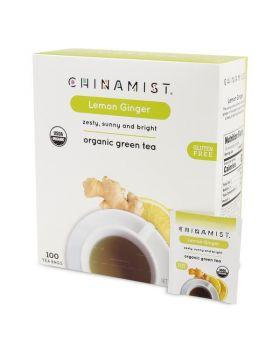 Lemon Ginger Organic Green Tea (100-ct.)
