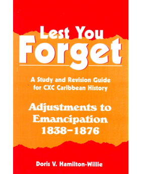 Lest You Forget - Adjustment To Emancipation 1838-1876