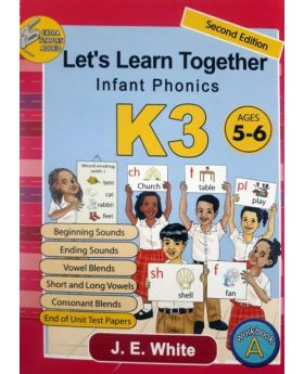 Let's Learn Together Infant Phonics K3 - Revised (Age 5-6)