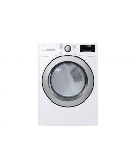 LG DLE3500W 7.4 Cu.Ft. Ultra Large Capacity Smart Wi-Fi Enabled Electric Dryer