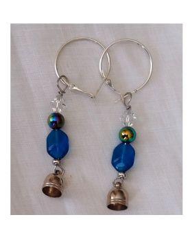 Lilibit Creation Earrings – Drop Earrings in Blue Tone