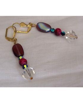 Lilibit Creation Earrings – Drop Earrings in Purple Tone