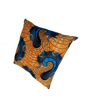 Lilibit Creations Craft Cushions – Bold Colors and Pattern, Cotton Fabric, Mixed Fabric Back Panel,  Will Add Interest to Your Living Space
