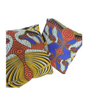 Lilibit Creations Craft Cushions – Double Cushions, Artistic Design in Eye-Catching Colours, Cotton Fabric