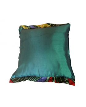 Lilibit Creations Craft Cushions – Light Bluish-Green Fabric with Sheen, Decorated on Two Sides with Wings