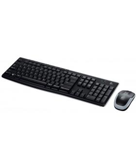 Logitech Wireless Combo MK270 - Keyboard and mouse set - 2.4 GHz