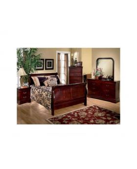 Louis Mary 6 Piece King Bedroom Set