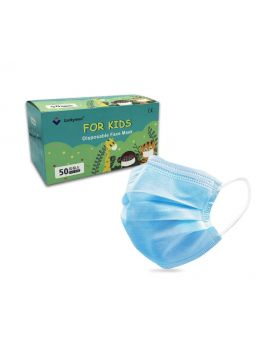 Luckyman Disposable 3 Ply Kids' Face Mask 50 Pack
