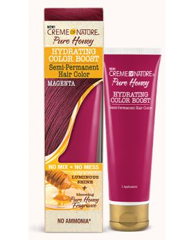Pure Honey Hydrating Color Boost – Semi-Permanent Hair Color MAGENTA