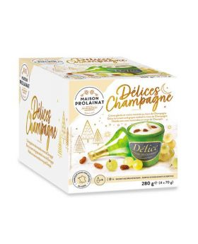 Maison Prolainat Delices Champagne Ice Cream 70g 4 Pack