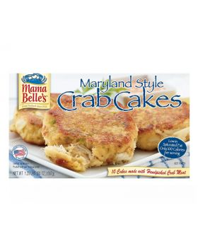 Mama Belle's Maryland Style Crab Cakes 2 Oz. 10 Count