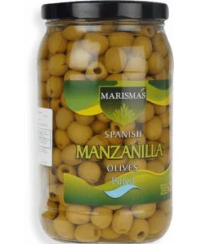 Marismas Pitted Manzanilla Olives 36 Oz.