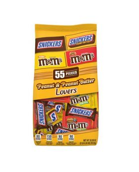 Mars Peanut Butter Lovers Chocolates 32.20 Oz./2 lbs.