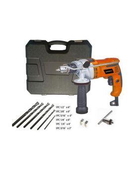 """Master Grip 1/2""""/ 7A Motor Hammer Drill Kit"""