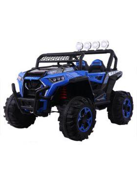Electric Jeep Blue