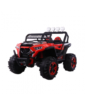 Electric Jeep Red
