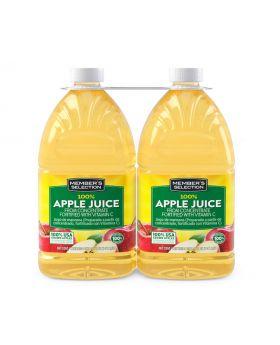 Member's Selection 100% Apple Juice 2 x 96oz