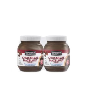 Member's Selection Chocolate Hazelnut Spread 26.5oz. 2 Pack