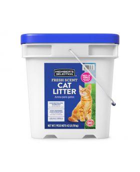 Member's Selection Fresh Scent Cat Litter 42 lbs