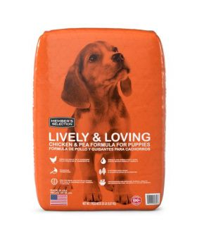 Member's Selection Lively & Loving Chicken & Pea Formula Puppy Dog Food