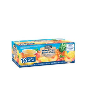 Member's Selection Mixed Fruit Snack Cups 16 Cups 16.4 Oz.