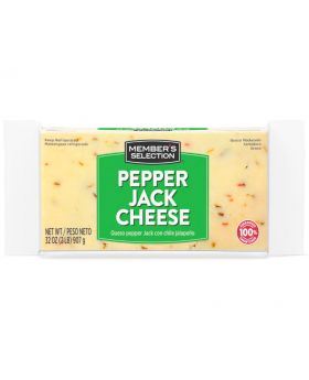 Member's Selection Pepper Jack Cheese 2 lbs