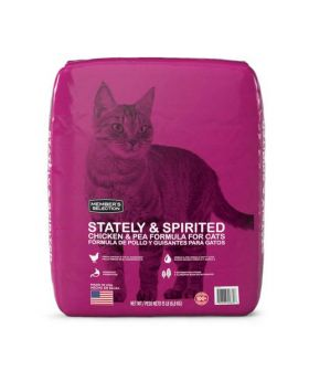 Member's Selection Stately & Spirited Chicken & Pea Formula for Cats 15 lbs