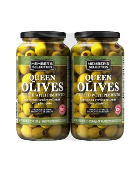 Member's Selection Stuffed Queen Olives 2 Pack