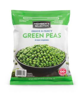 Member's Selection Grade A Fancy Green Peas 2.26 Kgs/ 5 Lbs.