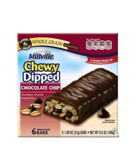 Millville Chewy Dipped Chocolate Chip Granola Bar