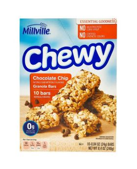 Millville Granola Protein Chewy Bar (10 bars)
