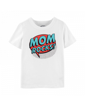 Oshkosh Mom Rocks Tee