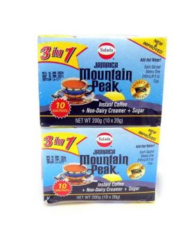 Mountain Peak 3 in 1 Coffee 20g x20 Count