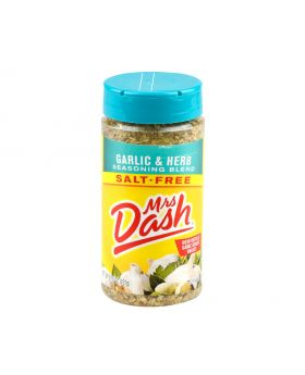 Mrs Dash Garlic and Herb Season Salt Free 191g