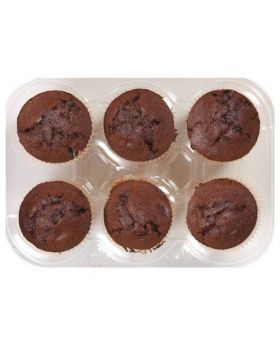 Double Chocolate Muffins 6pk