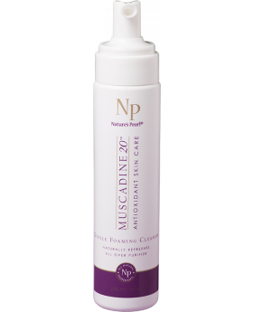 Natures Pearl Muscadine Gentle Foaming Cleanser