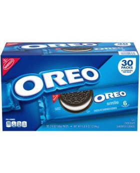 Nabisco Oreo Cookies 2.4 Oz. 30 Pack