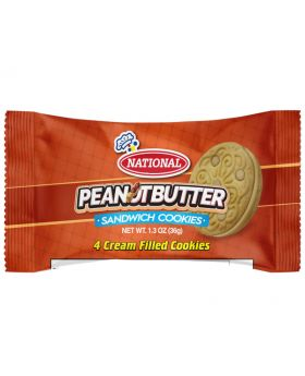 National Peanut Butter Sandwich Biscuit 36g