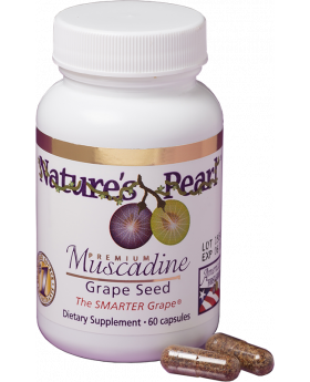Natures Pearl Muscadine Grape Seed Supplement